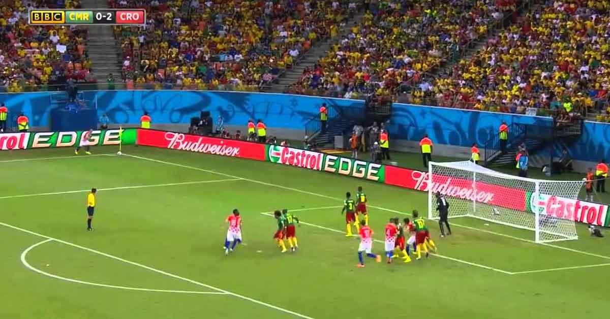 Pertandingan Kamerun melawan Krotia
