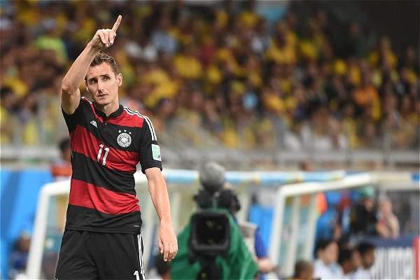 M. Klose Berhasil Memecahkan Rekor