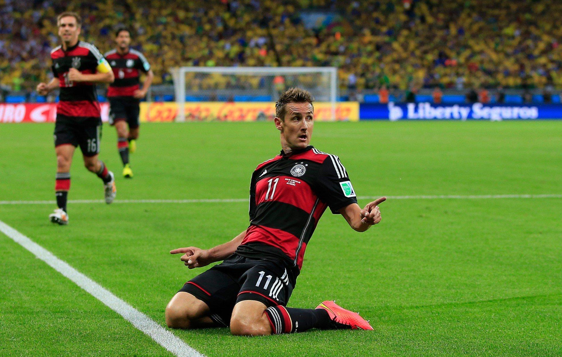 M. Klose Memecahkan Rekor Sebagai Pencetak Gol Terbanyak