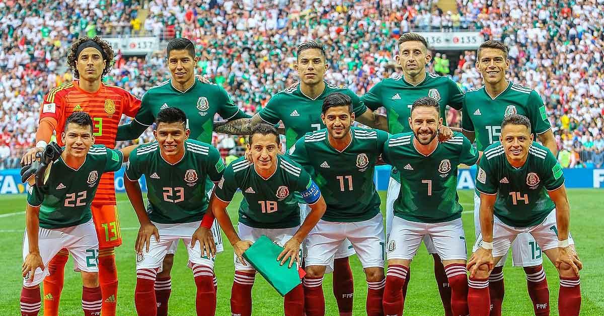 Mexico di Piala Dunia Russia 2018
