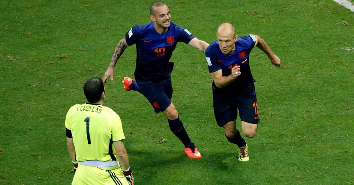 Spanyol Dipermalukan Oleh Belanda