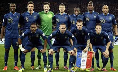 Kesebelasan Prancis