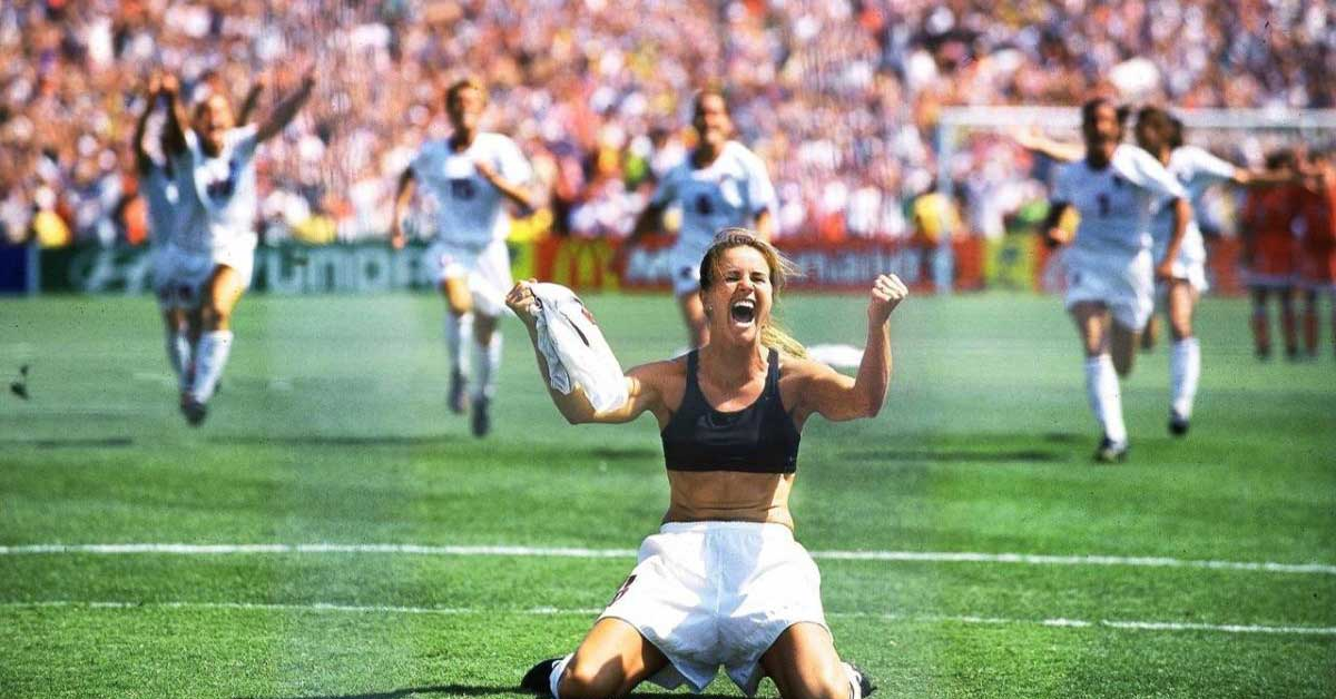 brandi chastain FIFA World Cup